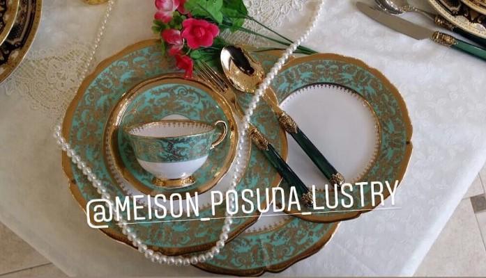 Посуда люстры магазин Meison
